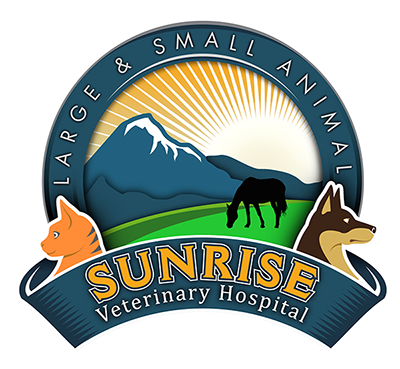 Sunrise Veterinary Hospital Mobile Logo